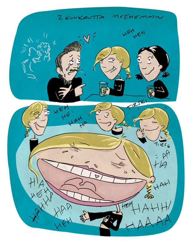 Lilly Allenin Smile sarjakuvaksi