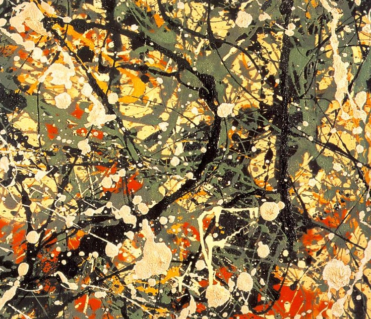 Jackson Pollock: Baby Names, Paintings Techniques, Numbers 8, Abstract Art Paintings, Jackson Pollock, Jacksonpollock, Art Projects, Art Pieces, Street Photography