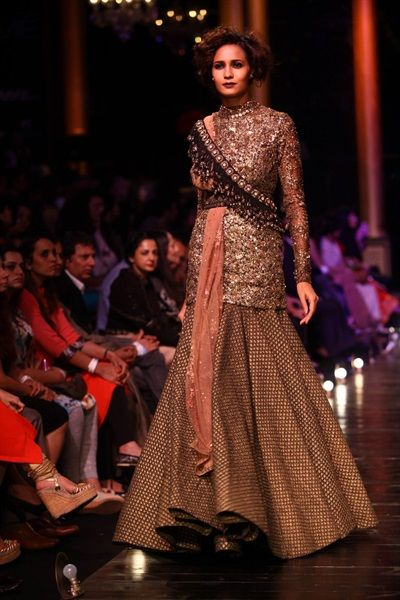 Sabyasachi's Steampunk Inspired Collection {Lakme Fashion Week 2013} - Gallery - TheBigFatIndianWedding.com