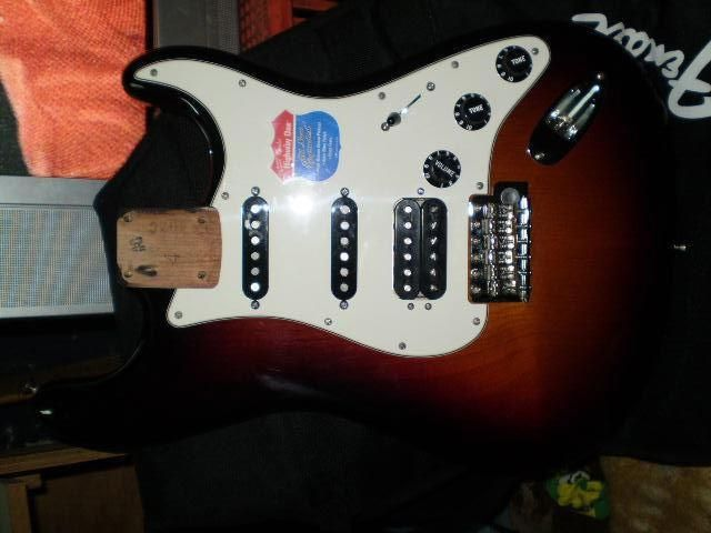2010 USA Highway 1 Fender Stratocaster Body Front