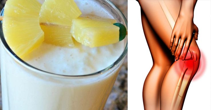 Simple and Easy to Make Smoothie for Joint and Knee Pain – Home Remedies