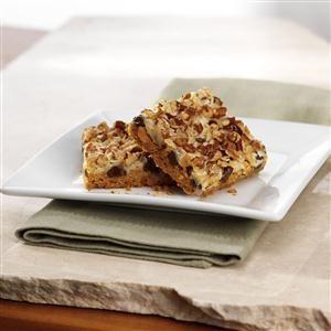 Seven Layer Magic Cookie Bars Recipe- Recipes  <b>Recipe provided by Eagle Brand®.</b>