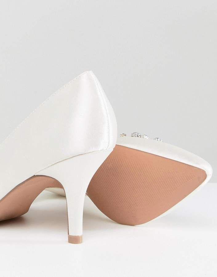 b41de50a4b Qupid Bridal Embellished Pointed Heels #Bridal#Qupid#Embellished ...