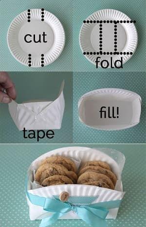 紙皿・ペーパープレートの使い方・アウトドアやプレゼント