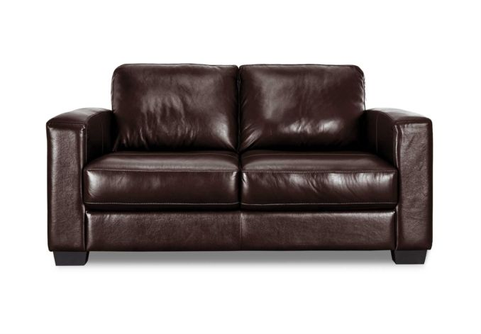 2 5 Leather And Leatherlux Sofa Bed Dante Upholstered