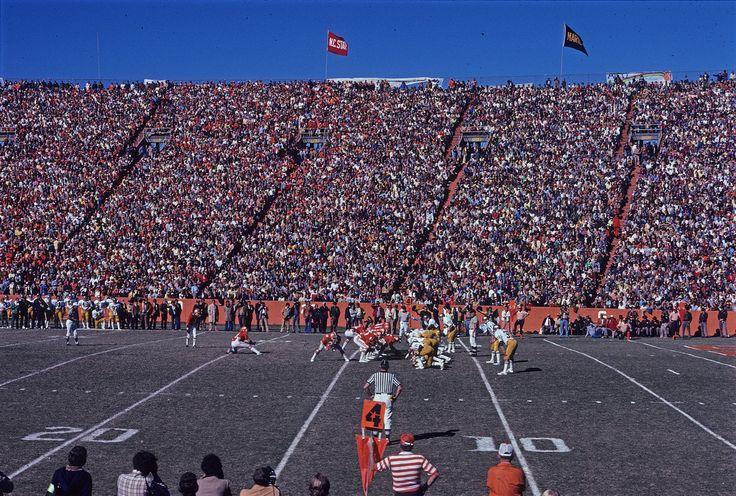 Clemson Attempts Field Goal against Notre Dame, 1977