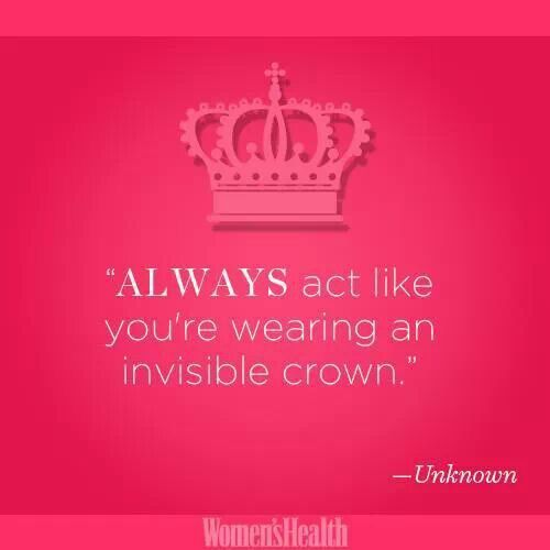 Women Thoughts Quotes: 25+ Best Ideas About Invisible Crown On Pinterest