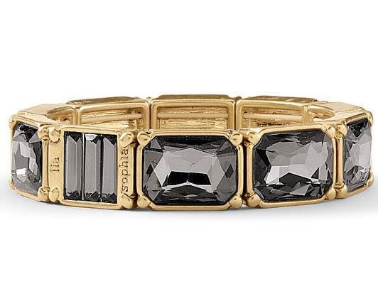 And another piece I wish I had, called Versailles Black Diamond Bracelet.
