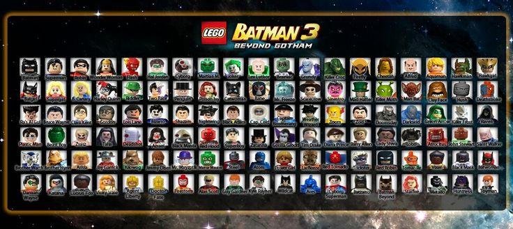 Fantasy cast for Lego Batman 3 | Lego® Batman 3 Beyond ...