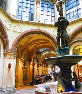 Vienna's iconic Freyung passage is a popular market. (From: See Europe's Dreamiest River Cruises)