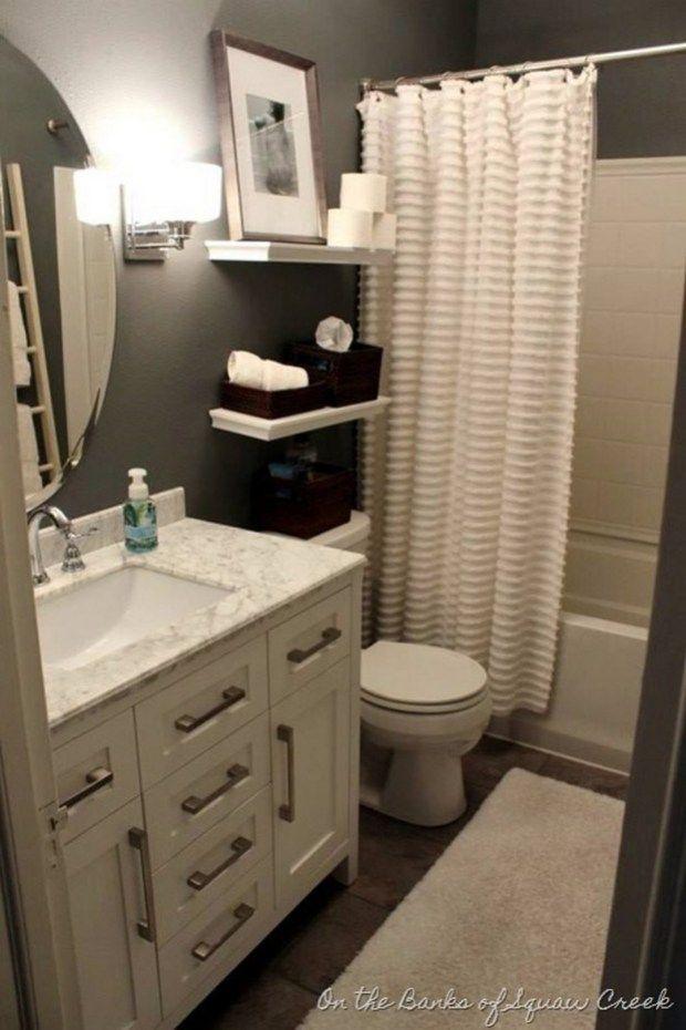 Elegant Small Bathroom Decorating Ideas Decomagz Bathroom Design Small Bathroom Decor Apartment Small Apartment Bathroom