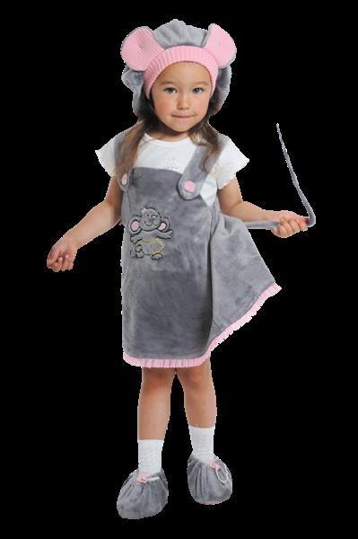 Новогодний костюм мышки для девочки