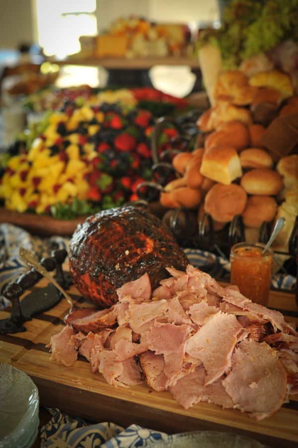 Hog roast variation - Emma Harrison one of our preferred caterers can provide this!
