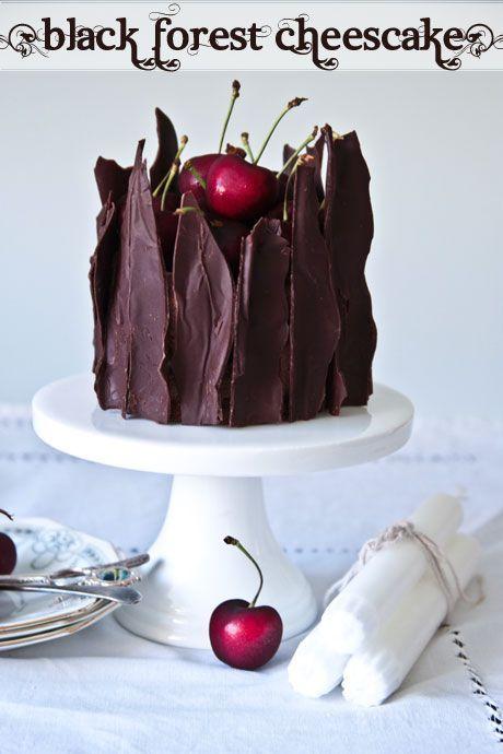 cheesecake bosque negro