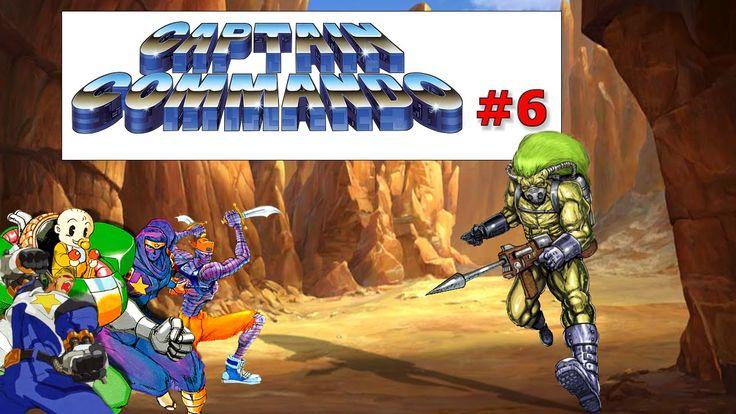 Captain Commando Stage#6 Aquarium|Old Fashion Gamer|  ¡Retro! |Gameplay HD