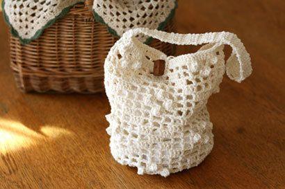 方眼とポップコーンのバッグの作り方|編み物|編み物・手芸・ソーイング|ハンドメイド | アトリエ
