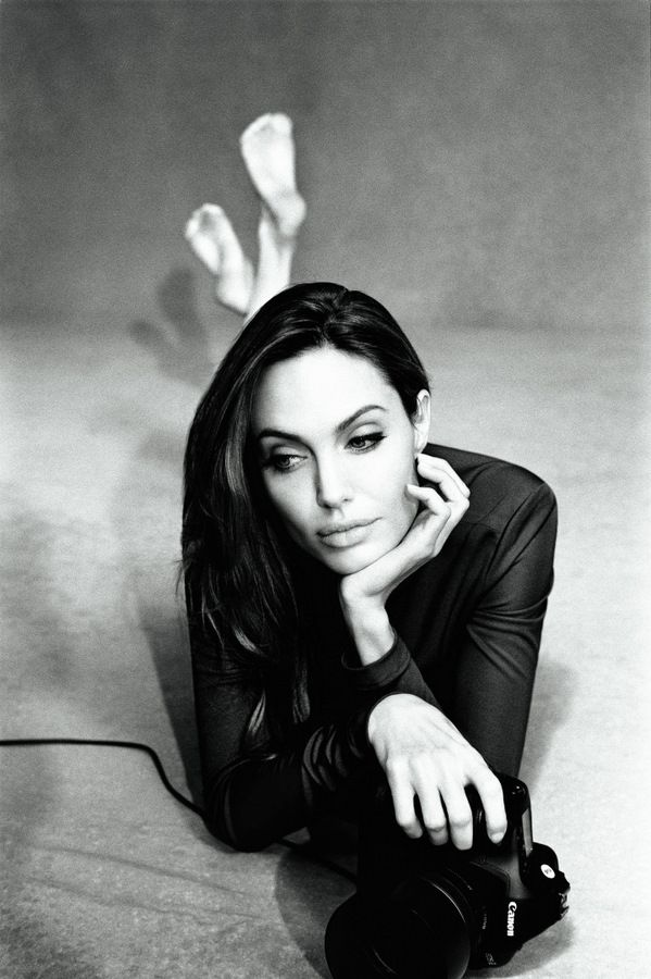 Angelina Jolie Alexei Hay Photoshoot for Marie Claire