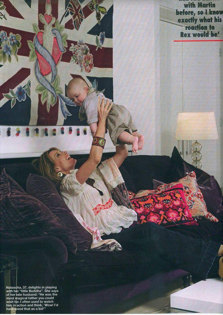 Talented actress Natascha McElhone wearing Odd Molly silk blouse