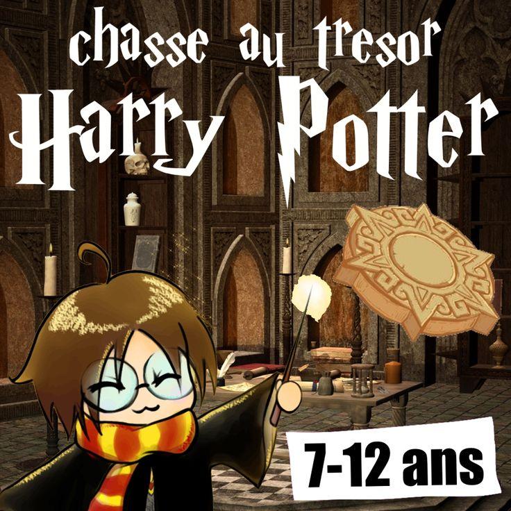 Chasse au trésor Harry Potter clef en main