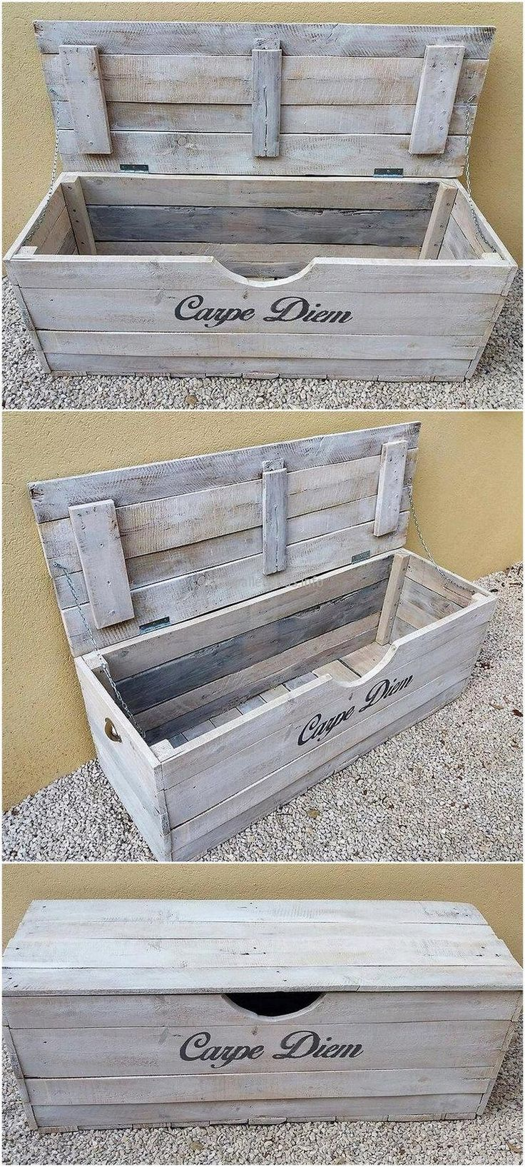 wooden pallets kids toy box