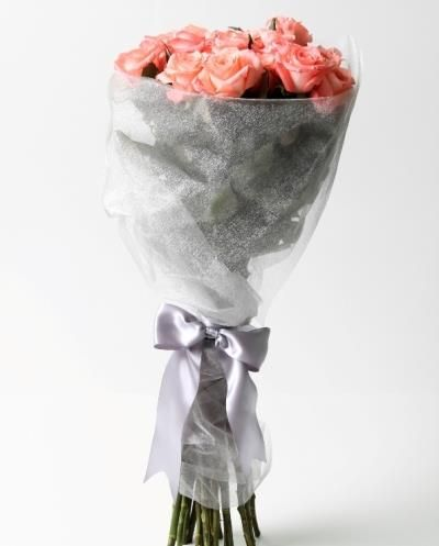Flowers in the rain (12 roses) Bespoke Bouquet, Flower delivery service, Johannesburg