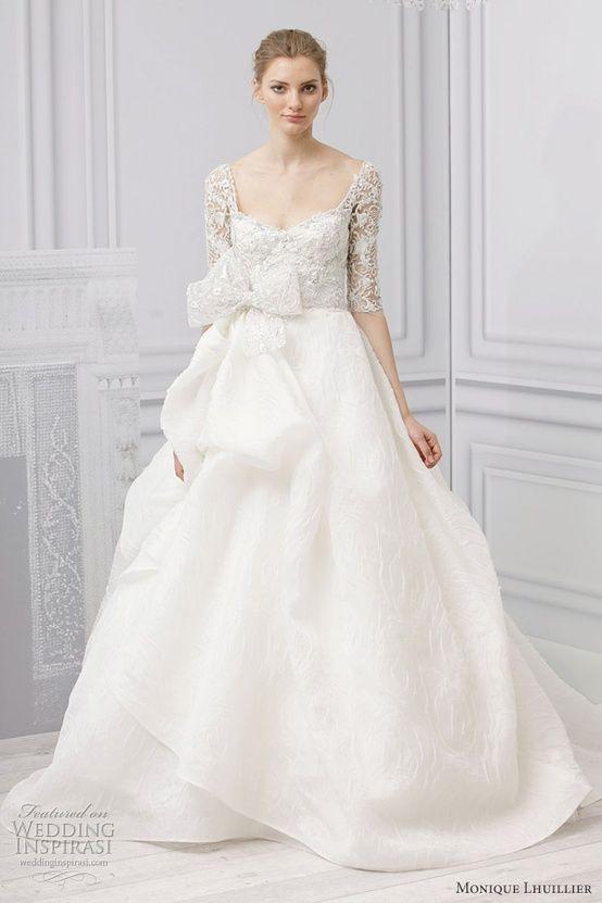 robe mariée silhouette grande 2