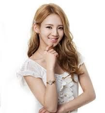 This girl (Hyo Yeon) had to partner Suk Jin in Running Man......