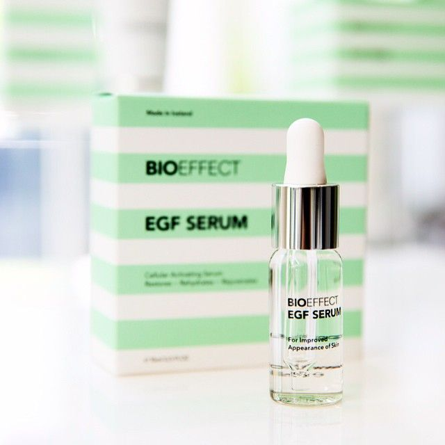 Did you know that 25% of #Icelandic #women over the age of #30 use #BIOEFFECT EGF Serum?   #bespokebeauty #fact #iceland #antiageing #skin #skincare #beauty #green