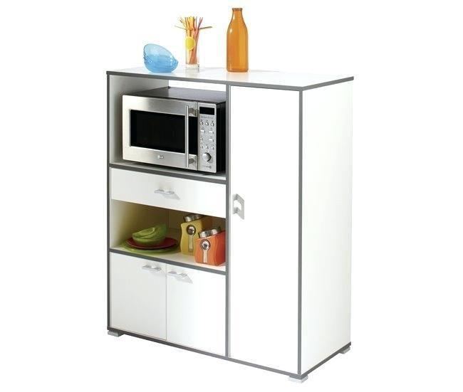 Mueble Blanco Mate De Cocina Conforama Muebles Microondas