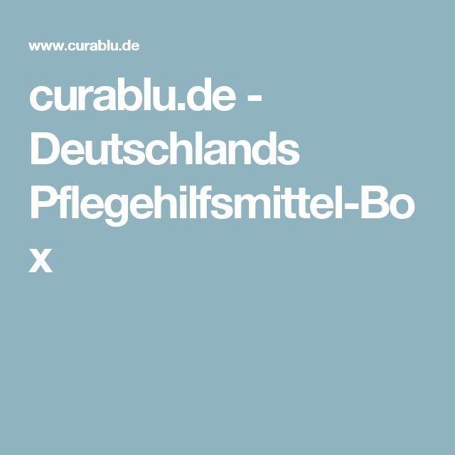 curablu.de - Deutschlands Pflegehilfsmittel-Box