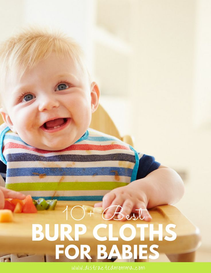Discover the best burp cloths for babies available online!