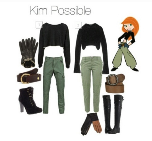 17 best ideas about kim possible costume on pinterest for West out of best making ideas