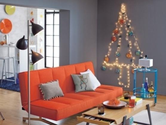 Christmas   string lights tree