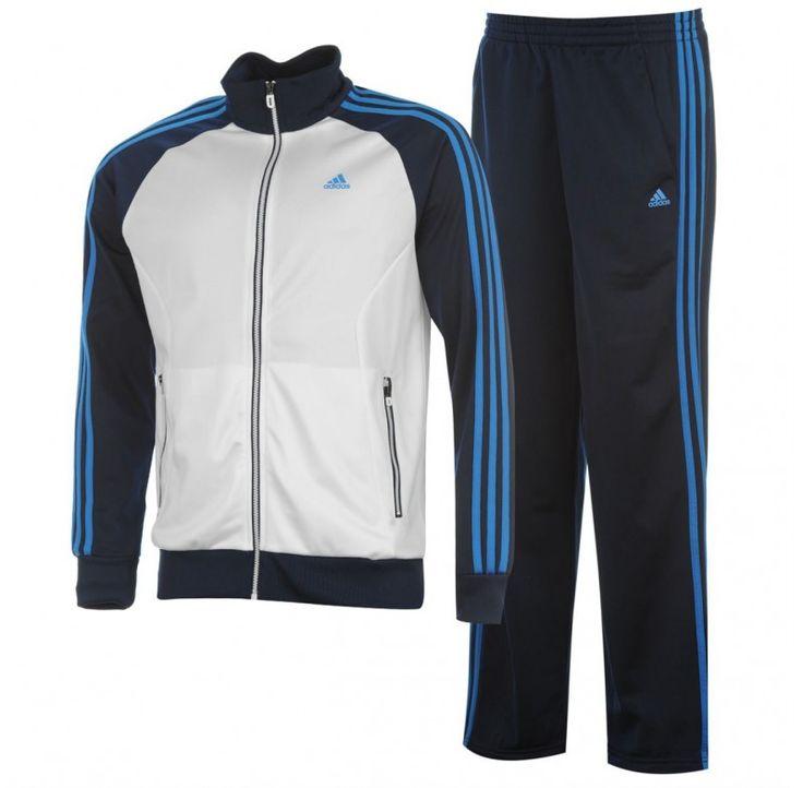 Treninguri barbati: Trening adidas Riberio negru alb bleu
