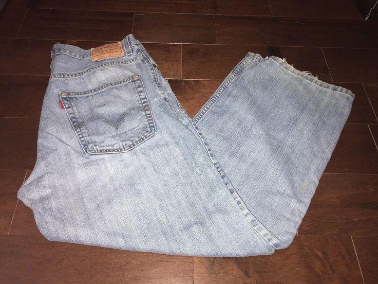 Mens Size 3632 36 Levi Stauss 569 Jeans Redtag
