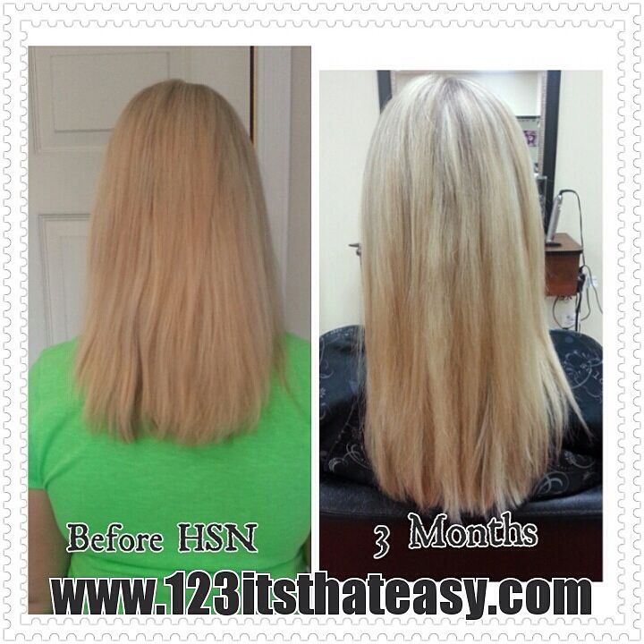 Here's a great pic of what our Hair,Skin and Nails product can do for hair that stops growing. This is my wife's before and after pic and it still amazes me on how much it grew in 3 months. www.123itsthateasy.com to order this or any other of our products or email us at csreid123@hotmail.com if you have any questions.
