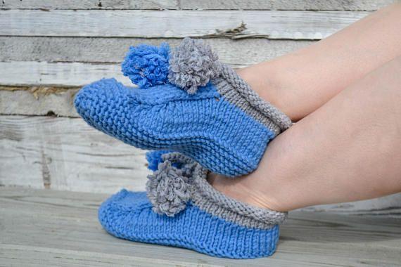 Woolen socks hand knitted Coziness