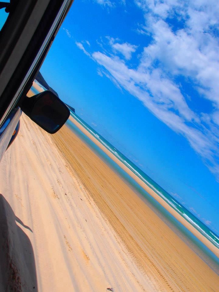 Fraser Island - Take a 4WD to this quiet island with white sand beaches. Watch out for those kookaburras!