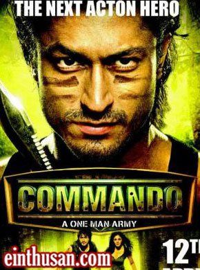 Commando - A One Man Army Hindi Movie Online - Vidyut Jamwal, Pooja Chopra and Jaideep Ahlawat. Directed by Dilip Ghosh. Music by Prasad Sasthe. 2013 ENGLISH SUBTITLE