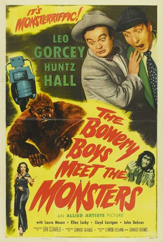 The Bowery Boys Meet the Monsters 11x17 Movie Poster (1954)