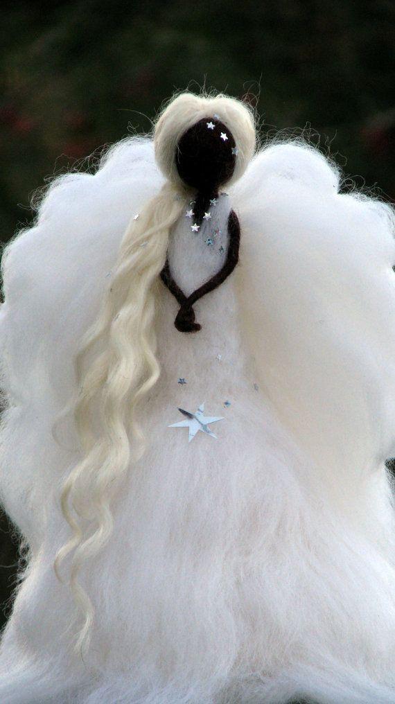 Adorno de Angel Christmas Waldorf inspiradora por Made4uByMagic
