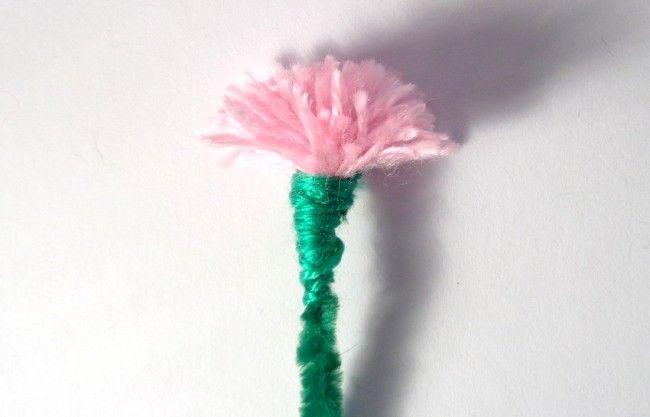 Un fiore di lana
