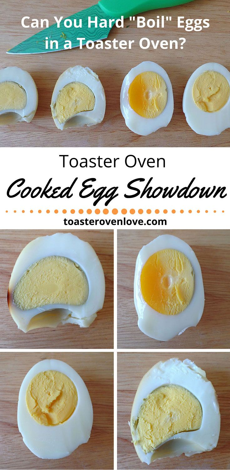 "Toaster Oven Hard ""Boiled"" Egg Showdown. We put the top 3 recipes for oven cooked hard eggs to the test in a head-to-head recipe showdown!"
