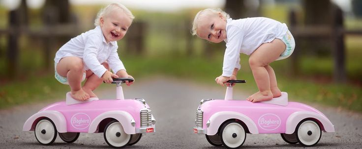 Pedal cars for kids, metal and wooden ride on toys for toddlers - Baghera
