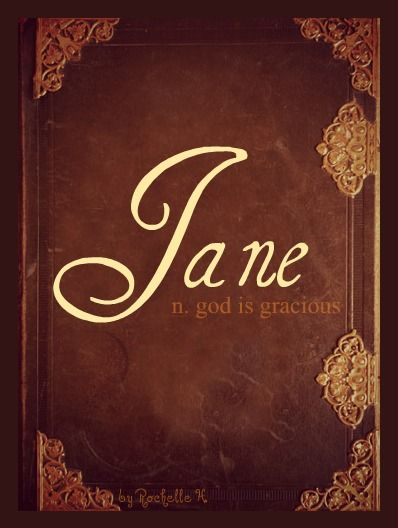 Baby Girl Name: Jane. Meaning: God is Gracious. Origin: English. http://www.pinterest.com/vintagedaydream/baby-names/