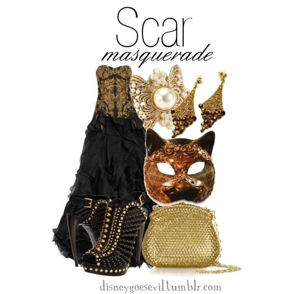 """Scar"" by disney-villains on Polyvore"