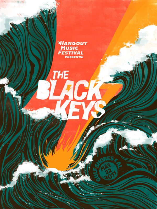 The Black Keys Festival Poster