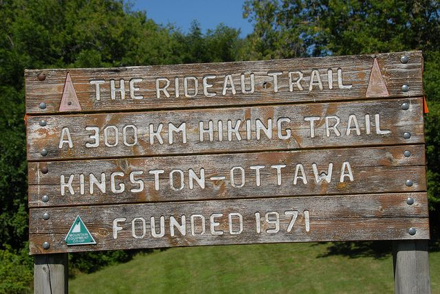 It is my goal to complete the entire Rideau Hiking Trail that stretches from Kingston, ON to Ottawa, ON. So far Mags and I have walked from King Street W. to a little past Bath Road & Queen Mary Rd. in Kingston.