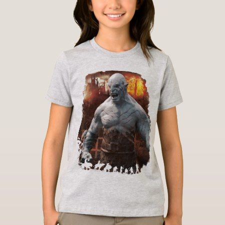 Azog & Orcs Silhouette Graphic T-Shirt - tap, personalize, buy right now!