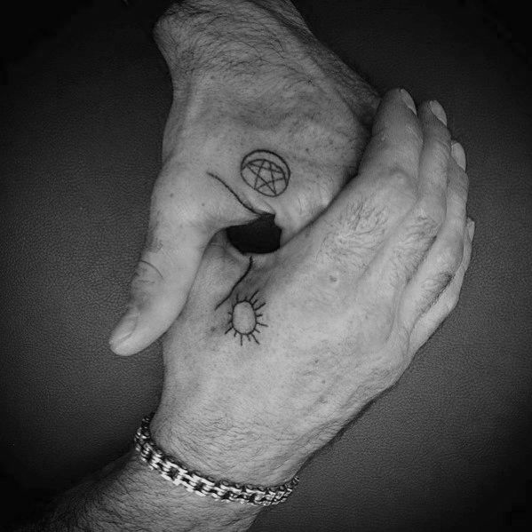 Top 71 Simple Hand Tattoo Ideas 2020 Inspiration Guide Simple Hand Tattoos Hand Tattoos Tattoos For Guys